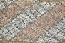 Free Mosaics At The Great Baths In Dion Royalty Free Stock Photos - 15192648