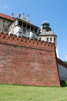 Free Royal Wawel Castle In Cracow Stock Images - 15192774
