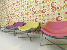 Free Colorful Chairs Stock Image - 15192821