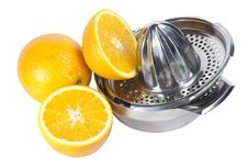 Free Oranges And Juice Extractor Royalty Free Stock Photo - 15192955