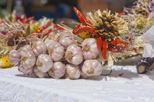 Free Garlic Ristra Stock Photo - 15193500