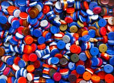 Free Colorful Beads Royalty Free Stock Photo - 15193845