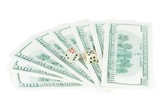 Free Money Dollars And Dice Jade Royalty Free Stock Photo - 15194225