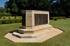 Adelaide River War Cemetry Monument