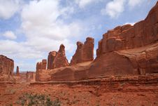 Free Arches National Park Stock Photos - 15194663