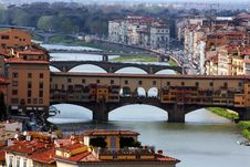 Free Ponte Vecchio, Florence, Italy Royalty Free Stock Photo - 15195685