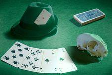 Free Deadman Hand (poker) Stock Photo - 15196020