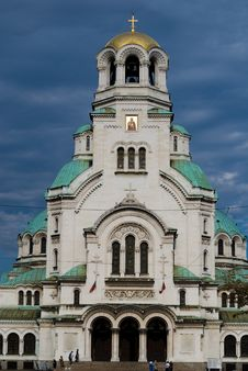 Free Alexander Nevsky Cathedral In Sofia Royalty Free Stock Images - 15196429