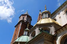Free Cathedral At Wawel Hill In Cracow Stock Image - 15196461