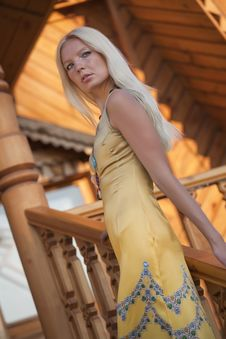 Free Glamour Woman In Evening Dress Stock Photography - 15196552