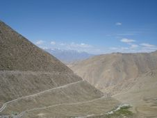 To Khardungla Pass Stock Image