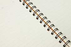 Free Open Notebook Royalty Free Stock Images - 15196959