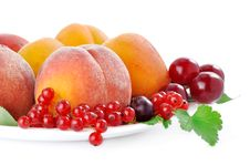 Free Fruits And Berries On A White Background Stock Images - 15198354