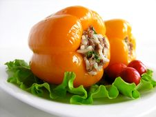 Free Stuffed Peppers Royalty Free Stock Photos - 15198668