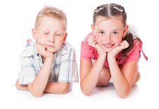 Free Brother And Sister Royalty Free Stock Photo - 15198785