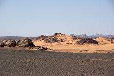 Free Libyan Desert Royalty Free Stock Image - 15198956