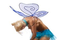Free Girl With Wings Royalty Free Stock Image - 15199086