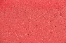 Free Red Texture Painted Concrete Wall Royalty Free Stock Photography - 15199537