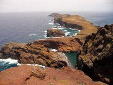 Ponta Do Sao Lourenco Stock Image