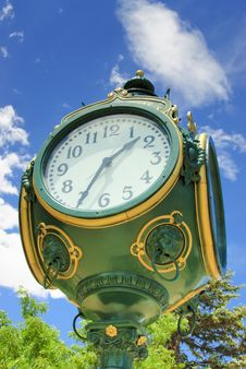 Free Historic Clock Royalty Free Stock Images - 15199929