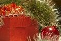 Free Gift Box And Christmas Ball Royalty Free Stock Photos - 1521568