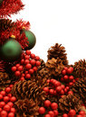 Free Shiny Red Christmas Tree Series - Tree4 Royalty Free Stock Image - 1523906