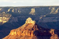 Grand Canyon From Bright Angel Lodge Royalty Free Stock Images