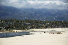 Free Coastline With Beach Stock Photography - 1520172