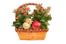 Free Basquet With Flowers Stock Images - 1521204