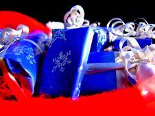 Christmas Giving Stock Photo