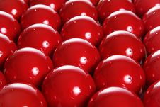 Free Red Bulbs Royalty Free Stock Image - 1523296