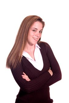 Teen Girl Portrait Royalty Free Stock Photo