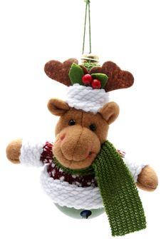 Free Goose Christmas Bell Stock Photos - 1524413