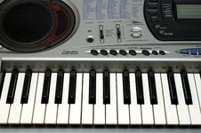 Free Synthesizer Royalty Free Stock Photo - 1524555