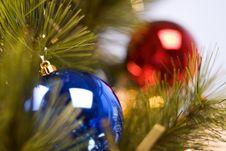 Free New Year Tree Royalty Free Stock Photos - 1524898