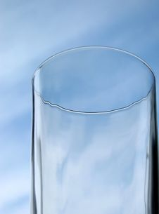 Free Glass And Sky. Stock Image - 1525111