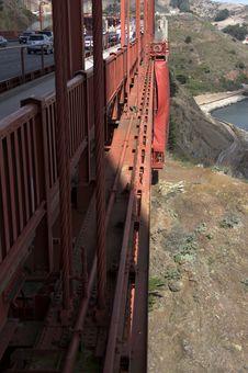 Details Of Golden Gate Bridge Royalty Free Stock Image