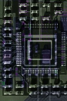 Circuit Close-up Royalty Free Stock Photography