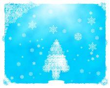 Free Snowflake Christmas Tree Stock Photography - 1527412