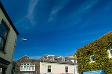 Free Padstow Buildings And Blue Sky Stock Image - 1527661