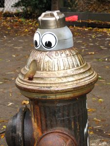 Free Mr. Hydrant Royalty Free Stock Photography - 1527807