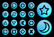 Stars And Geometric Stock Photos