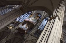 Free Cologne Cathedral Organ Royalty Free Stock Photos - 1528138