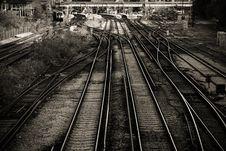 Free Railway Lines Stock Image - 1528171