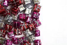 Free Gift Boxes Diagonal Royalty Free Stock Photos - 1528528