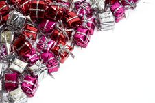 Gift Boxes Diagonal Royalty Free Stock Images