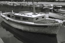Free Old Fishing Boat Royalty Free Stock Photos - 1528588