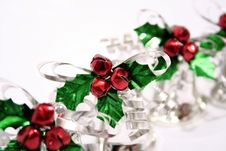 Free Jingle Bells And Holly Ornament Stock Images - 1528684