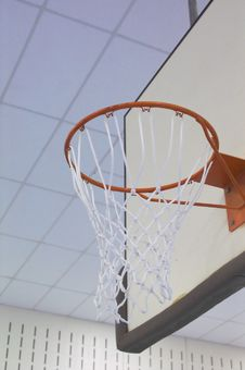 Free Basketball Goal Stock Images - 1528824