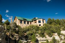 Free The North Rim Lodge Royalty Free Stock Photography - 1529007